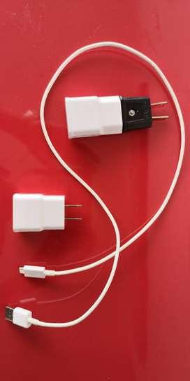 Cargadores y cable USB originales Samsung