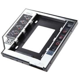 Caddy de disco duro 9.5 mm Adaptador  PC Universal 2.5 SATA HDD