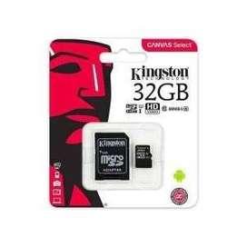 Memoria Micro SD Kingston Canvas Select 32GB Clase 10 80MB/