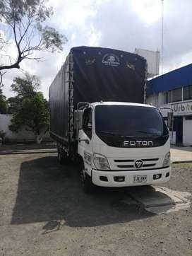 Se vende camion Foton Blanco, modelo 2015, Servicio Publico, Carroceria de Estacas, en excelente estado.