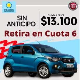 Fiat Mobi 100% Financiado