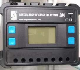 CONTROLADOR DE CARGA PWM 12/24- 30A  MARCA CARSPA