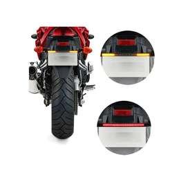 Tira Led Moto Para Posición Stop Guiños 48 Leds