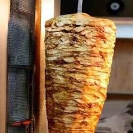 Deliciosos shawarmas