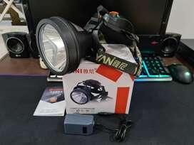 Linterna Yani 9841 Recargable Para Minería, Casería Original