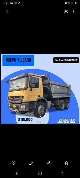 Financia Mercedes Benz GLB Actros camion volquete Bus interprovincial Mini bus sprinter