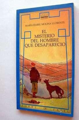 Libro El Misterio Del Hombre Que Desaparecio