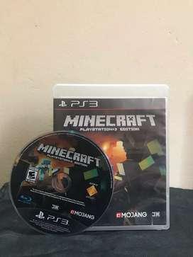 Minecraft PS3 edition (original) usado