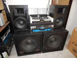 Equipo de Sonido para Dj Profesional Completo