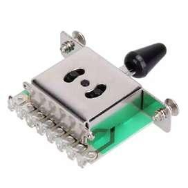 Selector de pastillas de guitarra electrica