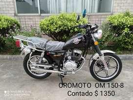 Moto OM 150 - 8 para trabajo
