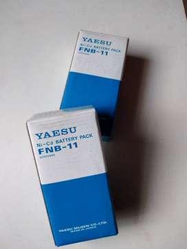 2 Baterías para radio teléfono YAESU  fnb - 11