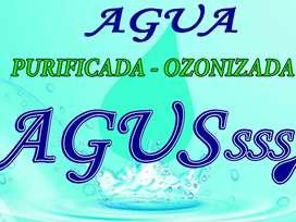 Venta de Agua Purificada  Botellón 20lst