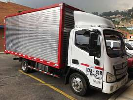 Vendo camion foton modelo 2019 kilometraje 20000 freno de ahogo freno de aire cubica 21 mts doble pacha totalmente nuevo