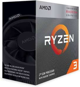 Amd Ryzen 5 3200g 3.6ghz-4.0ghz Gráficos Integrados Vega 8