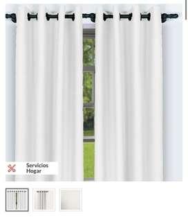 Set de cortinas
