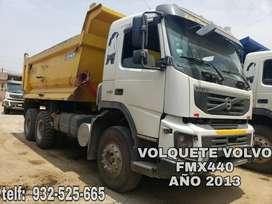 VOLQUETE VOLVO FMX440 AÑO 2013