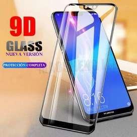 Vidrio Templado 9d Huawei Y6 2018 Protector Pantalla