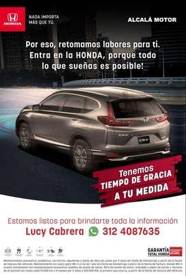 ¡El Honda de tus sueños a solo un click!
