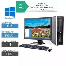 Oferta computadores lenovo intel core i5 ghz 3.30 ram de 4 pantalla 19