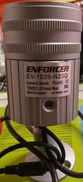 Camara Seco Larm IP66 EV1026N2SQ 12LED Day/Night Bullet Camera 2.9mm lens 120 degrees viewing angle 480 TV lines