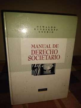 Manual de Derecho Societario (Oswaldo Hundskopf Exebio)