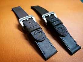 Pulsos de reloj en cuero, personalizados. Iwatch