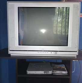 Se vende tv convencional.