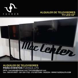 ALQUILER DE TELEVISORES LED Y LCD DE 42, 50 Y 55 PULGADAS BARRANQUILLA