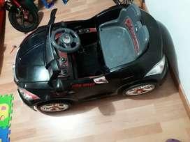Carro eléctrico con control
