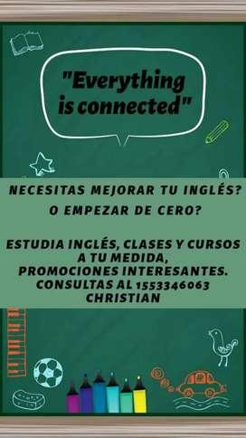 Clases y cursos de Inglés