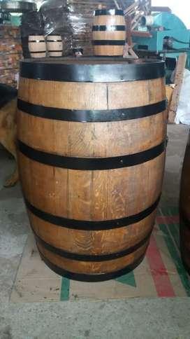 Barriles en Roble 200 Ltrs Restaurados
