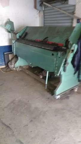 Se vende, cortadora de lámina manual, dobladora de lamina manual de 190 de largo en Medellín
