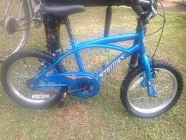 Bicicleta varon rodado 16