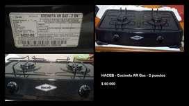 HACEB Cocineta AR Gas - 2 Puestos