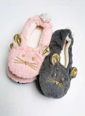Pantuflas de conejo calentadorcitas