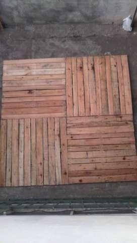 Panel o modulo de madera