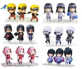 Jiraiya nendoroid Kakashi nendoroid Naruto nendoroid Hinata Nendoroi