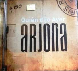 Cd Arjona Quien Dijo Ayer