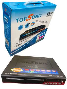 Reproductor Dvd Topsonic Ts-dvd-1016 Usb-mp3