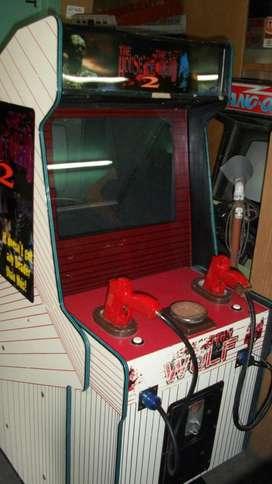 Mueble arcade vacío