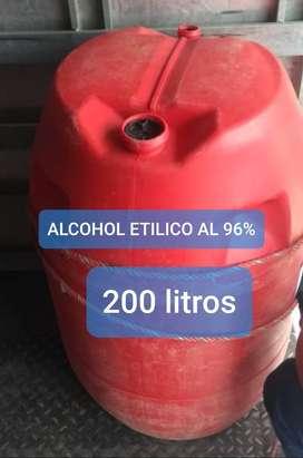 ALCOHOL ETILICO AL 96%
