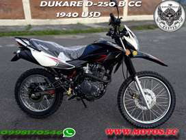 MOTO NUEVA DUKARE 250 CC