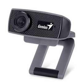 Cámara Web Para Pc Genius 1000x Webcam Hd. 720p. Nueva!