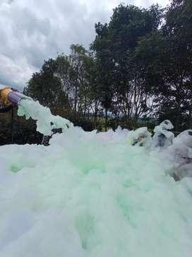 Venta y alquiler de cañón de espuma fiesta de espuma