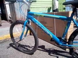 Bicicleta nueva aro 26 color celeste marino, Sum Racing