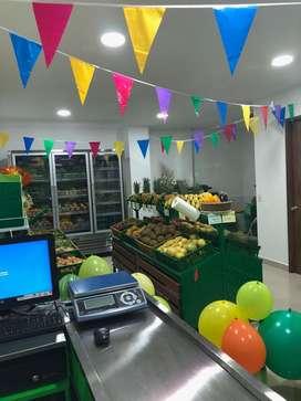 Venta Fruver Negocio frutas y verduras