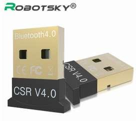 Adaptador Mini USB Bluetooth v 4.0