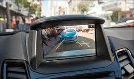 Instalación cámara de reversa Ford Fiesta pantalla original