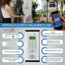 PORTERO ELECTRCO IMNALAMBRICO GSM /PLACA PARA PRTERO